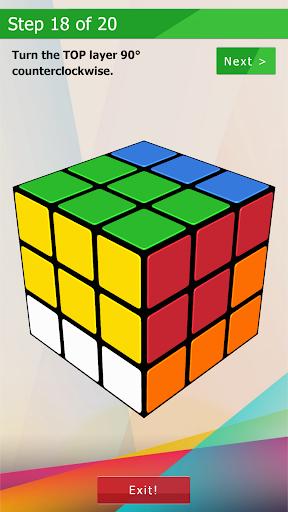 3D-Cube Solver 1.0.2 screenshots 7