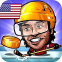 🏒Puppet Ice Hockey: Pond Head 🏆 icon