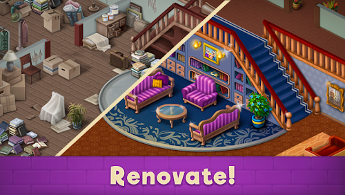 Screenshot 1 Mansion Blast 2.16.361 APK MOD