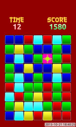 Blocks pluzzle color game