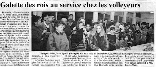 Photo: Galette des rois 1995