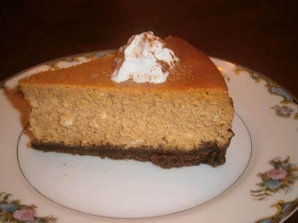 Gingered Pumpkin Cheesecake By Martharaydeen
