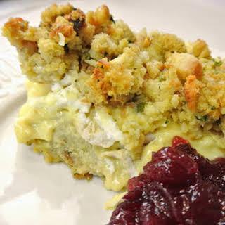 Chicken & Stuffing Casserole.