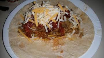 Artichoke Burrito