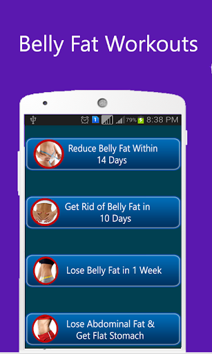 Belly Fat Burning Workouts App