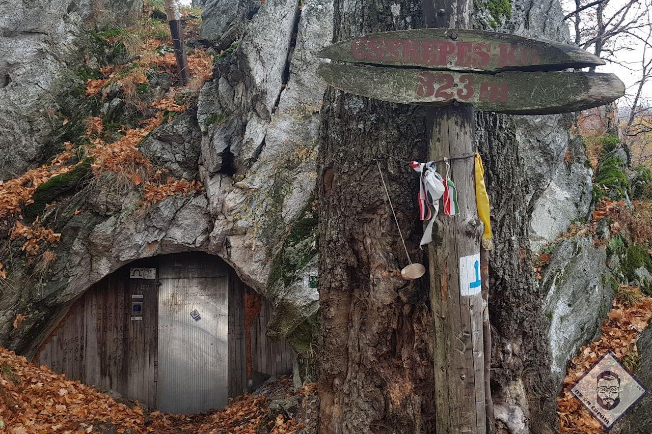 KÉP / Cserepes-kői barlang, az esti szálláshelyem