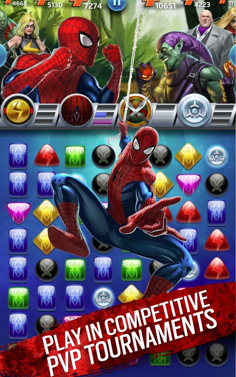 Marvel Puzzle Quest screenshot #15
