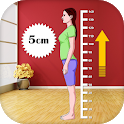 Height Increase: Tips and Exercises icon