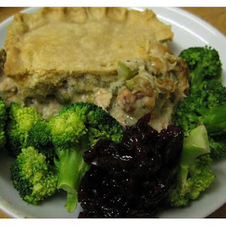Broccoli In Puff Pastry.