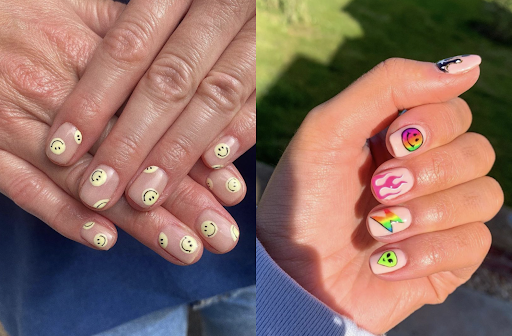 Smiley Face Nails Are The Latest Trend That Are Easier To Pull Off Than You Think