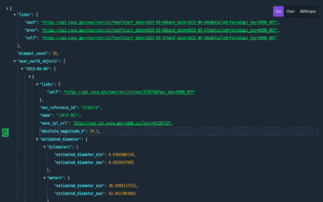 this extension assist you to visualize json response from any website or api request in your browser it introduces you with