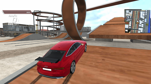 Super Car A7 Simulation, Quest, Parking screenshot 5
