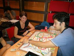 Photo: Aventureros al tren