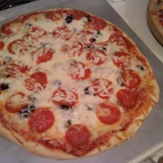 Bread Machine Pizza Dough.