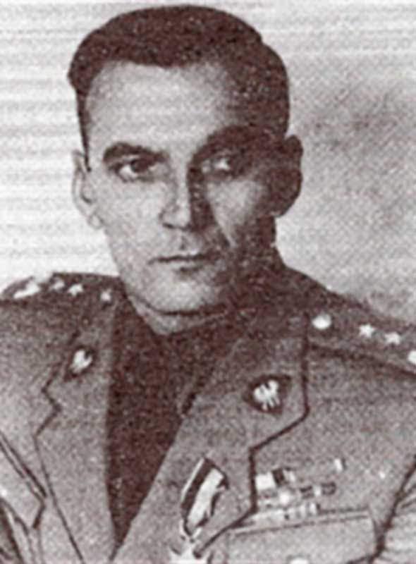 Модзелевский А.С., командир 701 пап