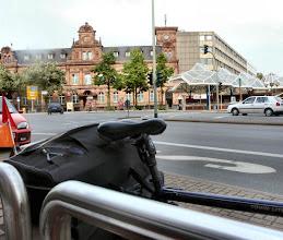 """Photo: dieses Foto ist speziell für Paule,  vom """"Der kleine Prinz"""" aus die """"Alte Post"""" am 28.06.2010 um 17:45h Guter Laden, für kleines Geld Mineralwasser und Eiscafe´."""