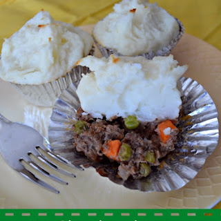 Mini Shepherd's Pies in Muffin Tins
