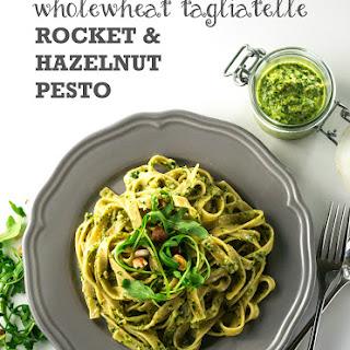 Tagliatelle with Rocket & Hazelnut Pesto Recipe