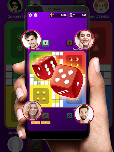 Ludo Club King : Free Multiplayer Dice Game android2mod screenshots 6