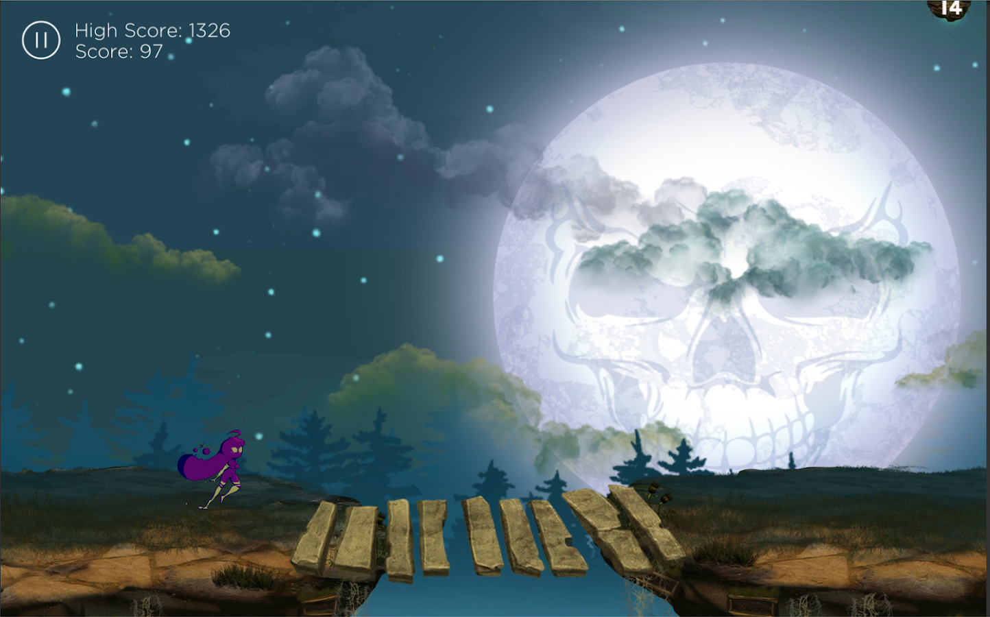 Graveyard Dash- screenshot