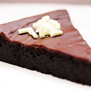 Chocolate Fudge with Chocolate Frosting