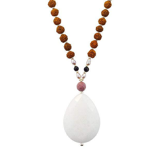 White Jade Highest Potential Tiny Devotions Mala