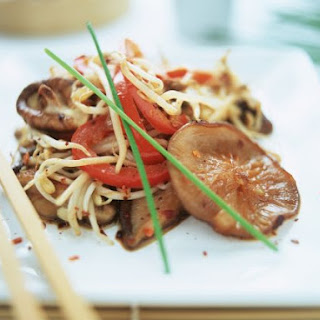 Pepper and Beansprout Stir-fry