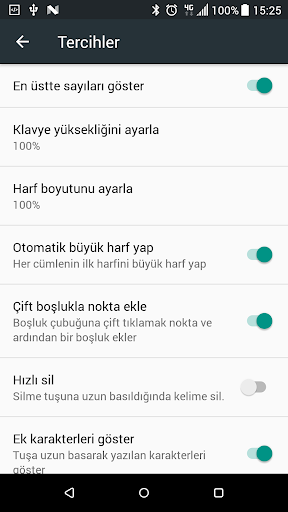 Turkish Keyboard screenshot 8