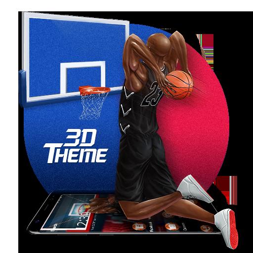Basketball Dunk 3D Theme Icon