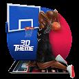 Basketball Dunk 3D Theme apk