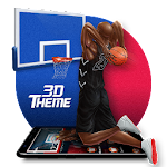 Basketball Dunk 3D Theme Icon