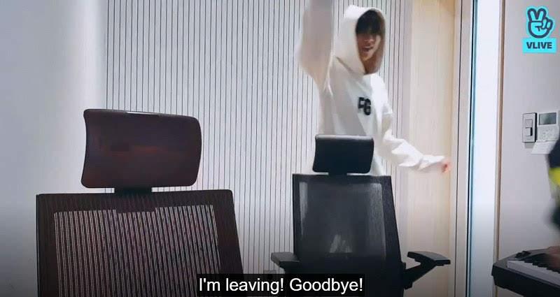 Rm leaving V-live