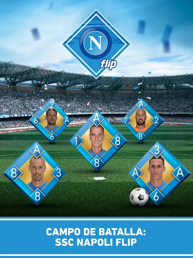 Napoli Flip - official game- screenshot