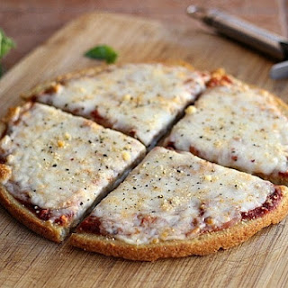 5-Ingredient Quinoa Pizza Crust (Vegan, Gluten-Free).