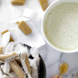 Honey Matcha Green Tea Caramels