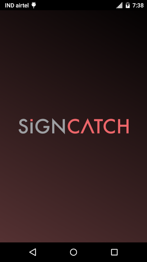 SignCatch- screenshot