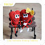 Cute Valentine Knitting Patterns APK icon