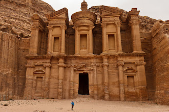 Photo: At the monastery, the largest structure we saw