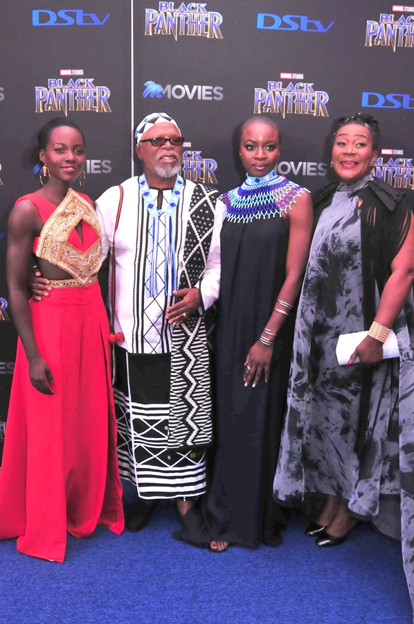 From left: Lupita Nyong'o, John Kani, Danai Gurira and Connie Chiume.