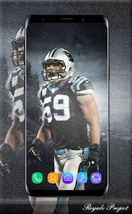 This App Contains Wallpapers Of Luke Kuechly If You Are Crazy About Football And A Fan Will Help To Personalize Your Phone