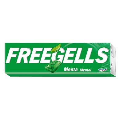 caramelos freegells menta 31.7gr