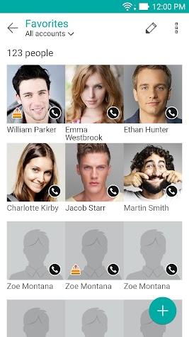 ZenUI Dialer & Contacts Screenshot
