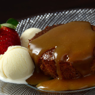 Sticky Canna-Toffee Puddings