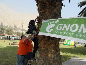 Photo: people helping to the ninja :p