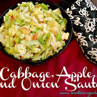 Cabbage Apple Onion Saute Recipe