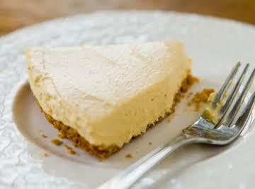 2 step pumpkin cheesecake