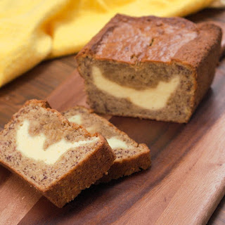Cream-Cheese-Filled Banana Bread