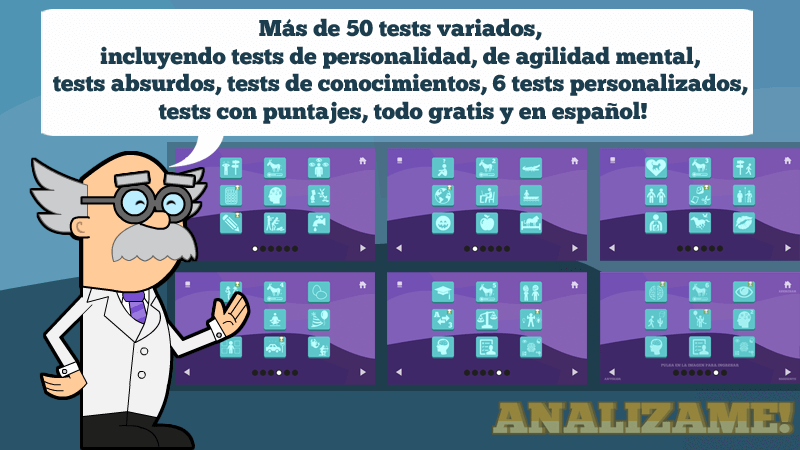 Analizame!  (Tests Divertidos)- screenshot