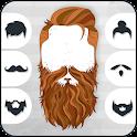 Man Hair Styles Mustache Beard Photo Editor icon