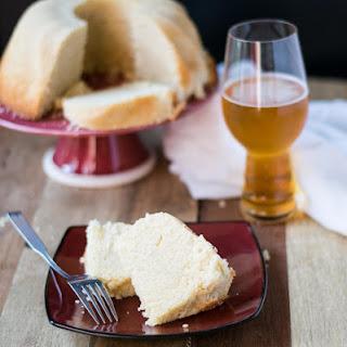 Coffee Vanilla Beer Pound Cake.